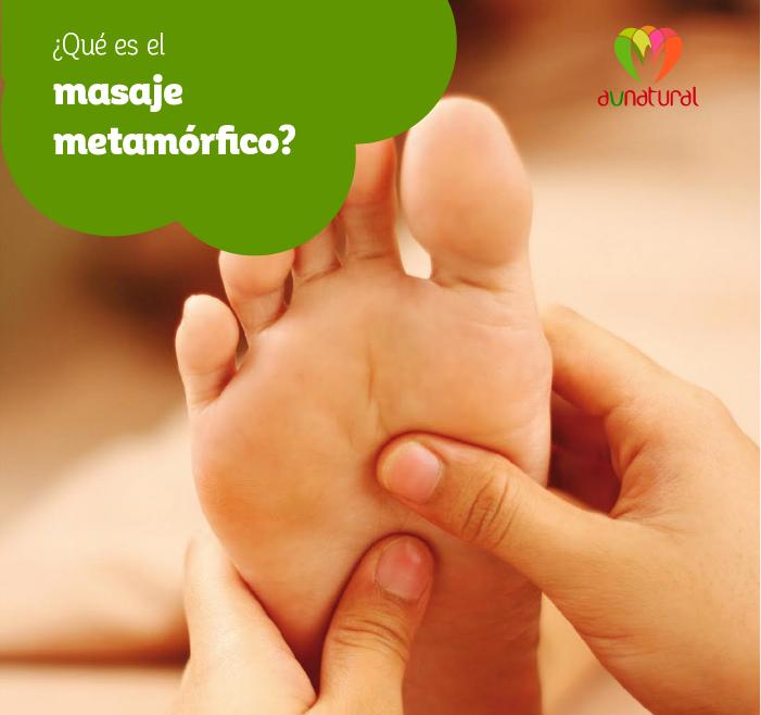 ¿Qué es el masaje metamórfico?
